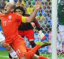 Robben reconoció que no fue penal.