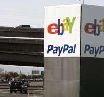 eBay, y el sistema de pagos PayPal cotizarán en la bolsa como empresas diferentes en 2015.