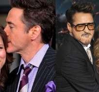 El actor se casó con su actual esposa en el 2005, tras lo cual abandonó las drogas.