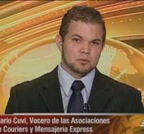 ECUADOR.- Mario Cuvi durante su entrevista en Contacto Directo. Foto: Ecuavisa