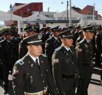 36 mil policías brindarán seguridad en todo el país durante este feriado. Foto: API