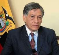 Miguel Calahorrano, embajador ecuatoriano en España. Foto: Presidencia de la República