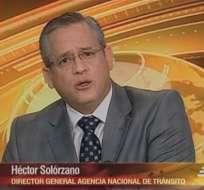 ECUADOR.- Héctor Solórzano durante su entrevista en Contacto Directo. Foto: Ecuavisa