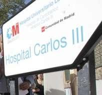 ESPAÑA.- El domingo, la mujer, ingresada en el Hospital Carlos III de Madrid, dio negativo por primera vez a un análisis del ébola. Foto: EFE