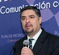 Patricio Barriga, presidente del Cordicom. Foto: API