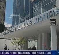 Cinco policías sentenciados por intento de asesinato