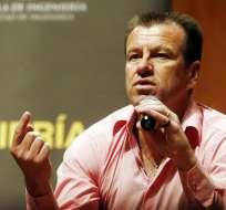 Dunga, entrenador de la selección brasileña de fútbol (Foto: EFE)