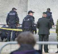 CANADÁ.- Zehaf-Bibeau, de 32 años, murió el miércoles abatido por la Policía en el edificio del Parlamento de Canadá, tras disparar mortalmente contra un militar. Foto: AFP