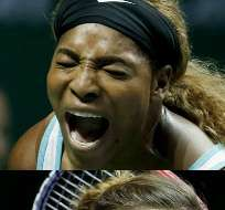 Williams disputará este sábado una de las semifinales del Masters de tenis contra Caroline Wozniacki. Fotos: EFE.