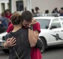 El responsable del tiroteo se suicidó tras matar a otro estudiante y herir a varias. Foto: AFP
