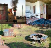 El Shanty Hotel combina el ambiente de los barrios bajos de Sudáfrica con el confort de Europa Occidental.