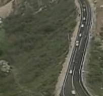 La mañana de este miércoles se reabrieron dos carriles de la vía Panamericana norte.