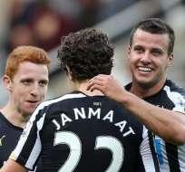 INGLATERRA.- El Newcastle suma su cuarta victoria consecutiva en todas las competiciones. Fotos: AFP