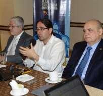 ECUADOR.- El titular de la Senescyt, René Ramírez, anunció mejoras desde su intervención, y posible asignación de más presupuesto. Fotos: API