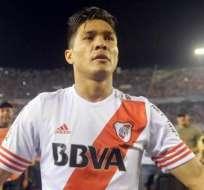 Teófilo Gutiérrez, una de las estrella de este River campeón (Foto: EFE)