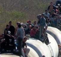 Por lugares de destino, Estados Unidos ocupa el primer lugar con 20,8 millones de emigrantes de la región.