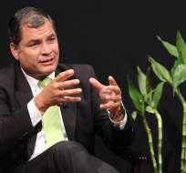 ECUADOR.- El mandatario señaló que las enmiendas constitucionales son el camino para corregir esos errores. Foto: Presidencia de la República
