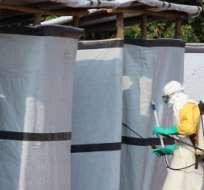 República del Congo anuncia el final de la epidemia de ébola en el país. Foto: AFP