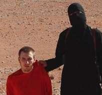 El vídeo muestra la cabeza del trabajador humanitario estadounidense Peter Kassig.