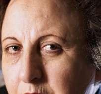 Ebadi, de 67 años, nacida en Teherán y crítica del actual Gobierno iraní, ganó el Premio Nobel de Paz en 2003.