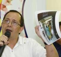 David Acurio, viceministro de Gobernanza y Vigilancia de la Salud. Foto: API