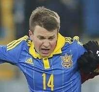 Ucrania fue sancionada por la UEFA. Foto: EFE.