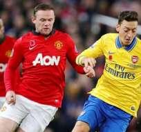 Arsenal - Manchester United, uno de los choques históricos del fútbol inglés (Foto: Internet)