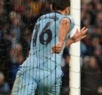 "El argentino anotó un ""Hat-trick"" para vencer al Bayern. foto: AFP."