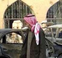 Varios vídeos difundidos en internet por activistas de Raqa muestran cuerpos ensangrentados en una calle.