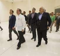 La nueva sede de Unasur será estrenada la próxima semana en una cumbre de jefes de Estado. Foto: EFE