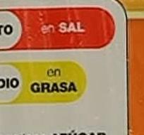Las etiquetas tipo semáforo alertan al consumidor sobre los niveles de azúcar, grasa y sal de los alimentos.