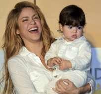 Shakira, que espera su segundo hijo, ha compartido otras fotos de Milan en las redes sociales pero en las últimas semanas se ha negado a fotografiarse con su hijo.