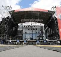 El espectáculo iniciará este miércoles 3 de diciembre a las 17H00 en el parque Bicentenario. Foto: Municipio de Quito