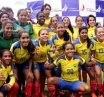 """Las """"Tricolores"""" buscan su cupo al Mundial."""