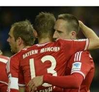 Bayern es uno de los equipos más temibles de Europa.