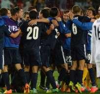 El Auckland City venció 1-0 al Setif de Argelia en el Mundial de Clubes que se juega en Marruecos. Foto: AFP