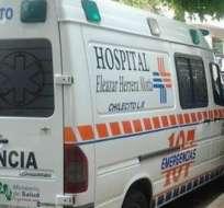 ARGENTINA.- Dos choferes de una ambulancia fueron arrestados; el hombre de 87 años estaba solo en una camilla. Foto referencial de Internet
