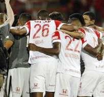 Independiente Santa Fe, cerca del título en Colombia (Foto: EFE)