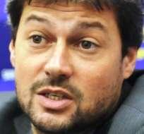 Matías Lamens, presidente del San Lorenzo de Almagro (Foto: Internet)
