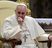 El Papa Francisco ha sido un confeso hincha de San Lorenzo de Almagro. Foto: AFP