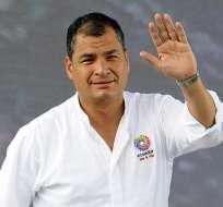 El mandatario confirmó que de Bélgica se trasladará a China donde se realizará una reunión de la Celac y el 10 de enero estará de vuelta en Ecuador. Foto: Presidencia.
