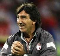 Gustavo Costas, entrenador argentino del Santa Fe (Foto: EFE)