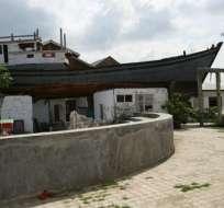 La embarcación de madera de 25 metros de largo se ha convertido en una atracción popular en el circuito turístico sobre el tsunami.