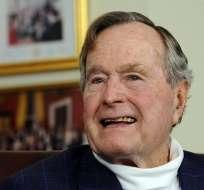 Bush fue ingresado el martes de la semana pasada tras experimentar una insuficiencia respiratoria.