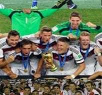 El título logrado por Alemania con una goleada en semifinales al anfitrión destacó en el 2014.