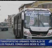 El precio de los pasajes de transporte público en Guayaquil no subirán por el momento.