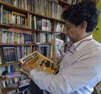 """Xavier Bonilla """"Bonil"""" llama a combatir odio desde el humor. Foto: AFP"""