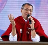 El vicepresidente defendió además el recorte de 1.420 millones de dólares del presupuesto general del Estado. Foto: Presidencia de la República.