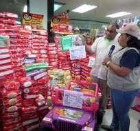 El Gobierno venezolano lucha desde hace meses contra el desabastecimiento de productos.