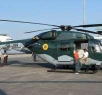 La Fuerza Aérea Ecuatoriana confirmó el accidente de la aeronave, ocurrido la tarde de este martes.